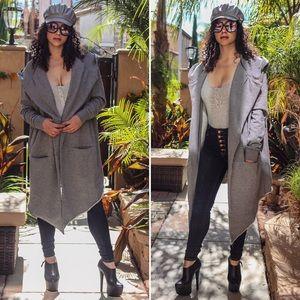 Jackets & Blazers - Oversized Hooded jacket